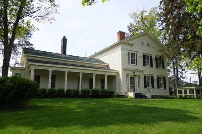 HILL HOUSE MUSEUM -1841, LIVONIA, MICHIGAN