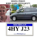 MISSING PERSON  ROBIN MARIE OWENS 08/22/72 LIVINGSTON COUNTY MI SHERIFF