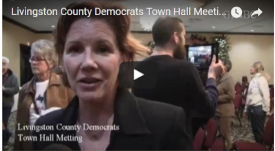 Livingston County Democrats Town Hall Meeting Eighth District G1NBC WIRE