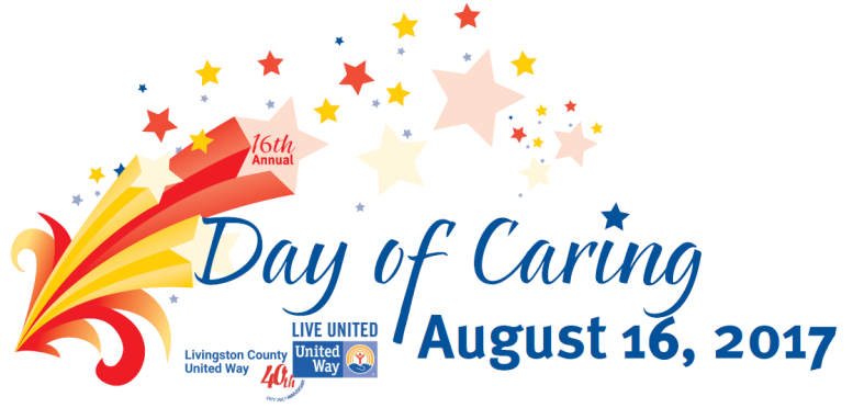 Livingston County United Way 16th Annual DAY OF CARING IS AUGUST 16, 2017