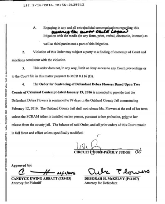 Family judge lisa gorcyca issues gag orders and jail time g1nbc judge 2 solutioingenieria Images